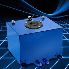 8 Gallon Lightweight Blue Coated Aluminum Gas Fuel Cell Tank+Level Sending Unit