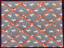 Unicorn Themed Handmade Fabric Large Landscape Notice / Memo Board