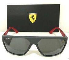 d4a8f285260 New RAY BAN SCUDERIA FERRARI RB4309M F6266G 60mm MATTE GREY GREY MIRR  SUNGLASSES