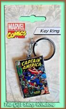 MARVEL COMICS CAPTAIN AMERICA METAL KEY RING OFFICIAL MARVEL NEW WINTER SOLDIER