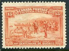 CANADA #102 FVF Original Gum Issue - Champlain's Departure for the West - S7991