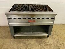 Vulcan Gas Radiant Charbroiler With 9 Burners 180000 Btu Tested