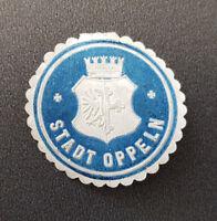 Siegelmarke Vignette Stadt Oppeln (8034-2)