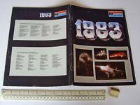 1983 Vintage Monogram USA Plastic Kit Catalogue - In French Language