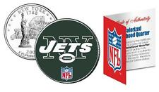 NEW YORK JETS * Officially Licensed * NFL NY U.S. State Quarter Coin w/COA