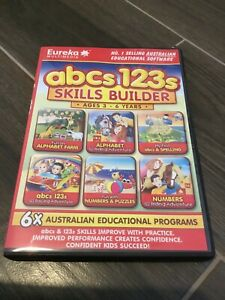 Abcs 123s Skills Builder Computer Disc Ages 3-6 Years
