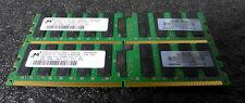 DL580 G4 16GB  4 X 4GB MEMORY  GENUNE HP PC2-3200R  LOT OF FOUR UNITS 16GB TOTAL