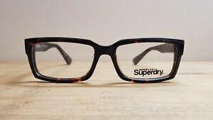 Superdry Glasses Frames BRAND NEW Hotrod 55.17 140 RRP £169 Tortoiseshell