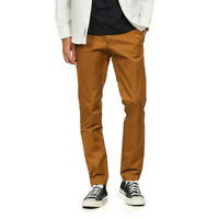 Carhartt WIP - Sid Pant 'Lamar' Stretch Twill, 8.6 oz Hamilton Brown Rinsed