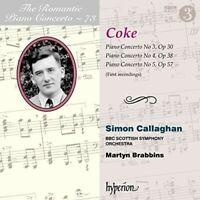 Simon Callaghan - The Romantic Piano Concerto, Vol. 73 [New CD]