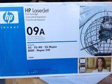 HP 09A C3909A Black Toner LaserJet 5Si, 5Si MX, 5Si Mopier, 8000, Mopier 240