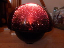 """LOVELY VINTAGE 1970s CRESTWORTH """"GALAXY"""" FIBRE OPTIC LAMP ON STAND."""