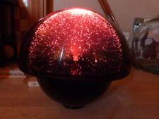 "Lovely VINTAGE 1970 S crestworth ""Galaxy"" in fibra ottica Lampada su stand."