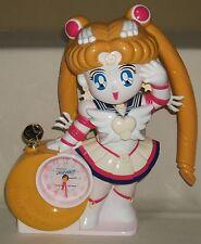 "Eternal Sailor Moon Stars Figures Dolls Alarm Clock 28cm 11"" BANDAI Unused Rare"