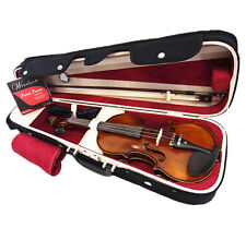 SPECIAL - 1/2 Flamed Back Violin +Bow +Rosin +String +Shoulder rest +Wooden Case