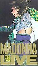Madonna - Live - The Virgin Tour (VHS, 1985) VHS VIDEO TAPE
