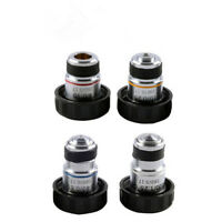 4X 10X 20X 40X 60X 100X 185 Achromatic Biological Microscope Objective Lens 1PCS