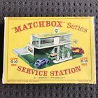 Matchbox Lesney G-10 Gift Set 1964 BP Service Station RARE