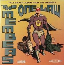 The Members - One Law (NEW CD)