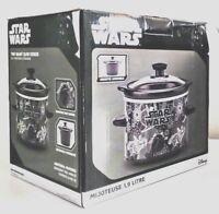 DISNEY Star Wars Lucas Film  Slow Cooker 2 Qt Crock-Pot, Brand New, # LSW-200CN