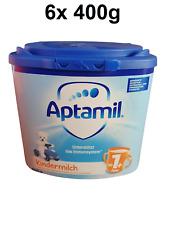 Aptamil Kindermilch Folgemilch ab 1 Jahr (1+) Milchnahrung 6 x 400 g (12,49?/kg)