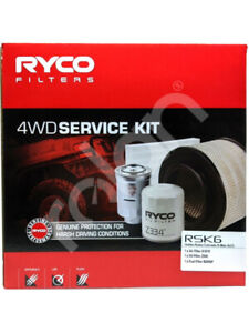 Ryco 4WD Filter Service Kit FOR HOLDEN COLORADO RC (RSK6)