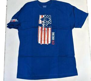 CFH Racing Men's Super Soft Car Flag Graphic T-Shirt NEW 2XL