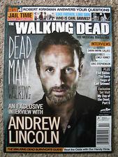 The Walking Dead Official Magazine #4 Summer 2013 Andrew Lincoln Emily Kinney