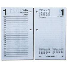 "2021 At-A-Glance E717-50 Daily Calendar Refill, 17 Style, 3-1/2 x 5-27/32"""