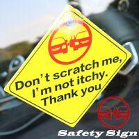 DOOR SIGNS ABS Plastic Yellow Signs Sticker Display Card Door Shop UK P&P
