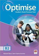 Optimise B2 Student's Book Premium Pack  MACMILLAN 9780230488809