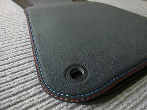 Velours floor car mats suitable for BMW E30 convertible 3 series + FROM BAVARIA