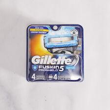Gillette Fusion ProShield Chill Men's Razor Blade Refills, 4 Refills, BRAND NEW