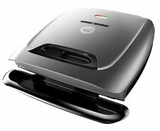 George Foreman GR2121P 8-Serving Classic Plate Grill with Variable Temperatur...