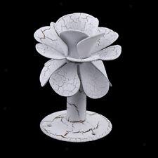 Solid Metal Curtain Tie back Rose Flower Holdbacks Tassel Wall Hooks White