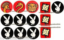 35th DATA EAST PLAYBOY PINBALL High Performance TARGET ARMOUR CUSHIONED DECALS