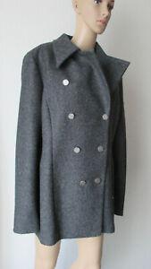 Anna Lascata kurzer Outdoor Mantel in der Farbe antrazith , Größe 46