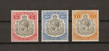 TANGANYIKA 1927/31 SG 105/7 MINT Cat £420