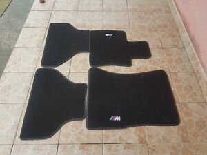 Floor mats bmw E71 X6 M white M logo