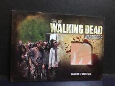 The Walking Dead Season 2 Trading Cards Wardrobe Walker Horde M32 AMC