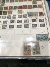 China Indo China 300$+Sv On Album Age Foill On 2 Sides Early Stamps Mint / Used