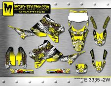 Suzuki DRz 400 1999 up to 2018 graphics decals kit Moto StyleMX stickers