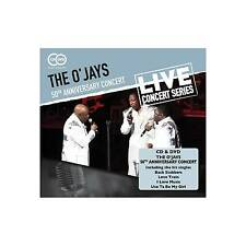 The O'jays 50th Anniversary Concert & CD DVD Set Classic 70s Soul