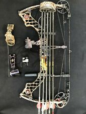 Mathews z7 Extreme Left 60-70 Lbs. 28 Inch Draw with extras QAD, G5, Gold Tip
