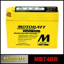 BATTERIE [MOTOBATT] MBT4BB = YT4BBS (12 V 2,5 SCELLÉS EN ACTIVÉ