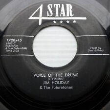 Jim Holiday & futuretones 4star 45 Voice of the tambores / ALL I Want Is You