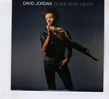 (HD45) David Jordan, Place In My Heart - 2007 DJ CD