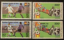 Timbre BENIN Stamp -Yvert et Tellier n°539 à 542 NSG (Ben1)