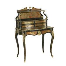 Scrivania in stile Napoleone III Tartaruga Ottone Francia Fine '800