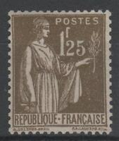 "FRANCE STAMP TIMBRE YVERT N° 287 "" TYPE PAIX 1F25 OLIVE "" NEUF xx LUXE A442"
